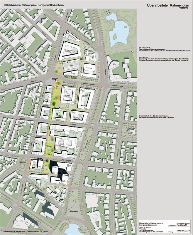 Masterplan 2010, © K9 Architekten