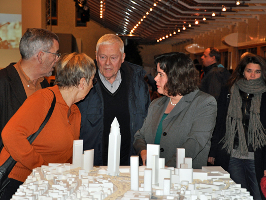 Opening event on Nov.25, 2011, © Herwarth + Holz, Planung und Architektur