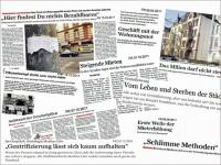 Press roundup on gentrification, © Stadtplanungsamt Stadt Frankfurt am Main