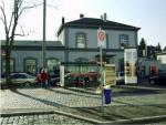 The station forecourt, date: 2008, © Stadtplanungsamt Stadt Frankfurt am Main