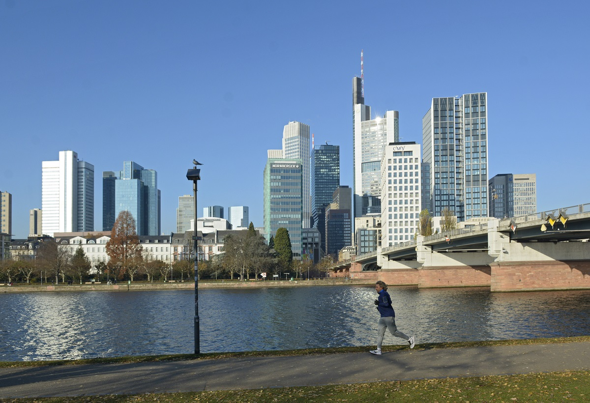 Section of Frankfurt's skyline, © Frankfurt City Planning Dept.