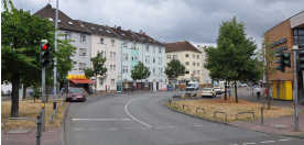 Urban redevelopment of Central Griesheim