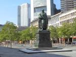 View of the Goethe memorial, © Stadtplanungsamt Stadt Frankfurt am Main
